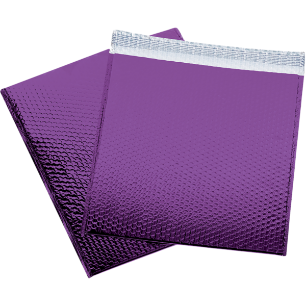 16 x 17 1/2 Glamour Bubble Mailer Purple