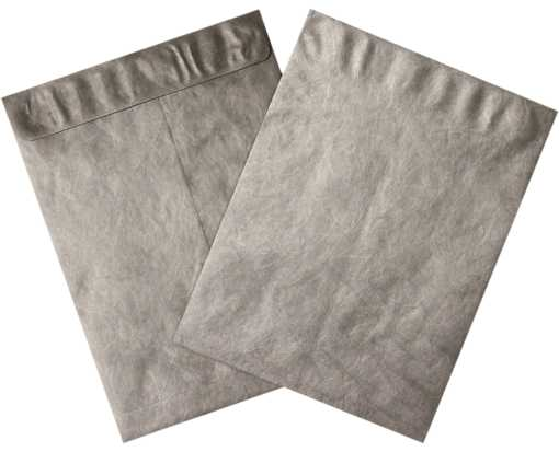 12 x 15 1/2 Open End Tyvek Envelope Silver