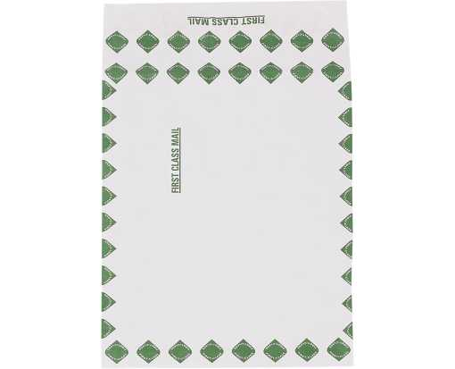 12 x 16 x 2 First Class Expandable Open End Tyvek Envelope - White White