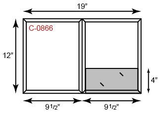 """9.5"""" x 12"""" CONFORMER Folders - Two Pockets w/ Pen Holder"""