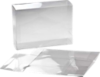 5 3/8 x 2 1/2 x 7 3/8 Crystal Clear Box  (Pack of 25) Clear