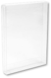 4 7/8 x 13/16 x 6 5/8 Crystal Clear Box - Clear (Pack of 25) Clear