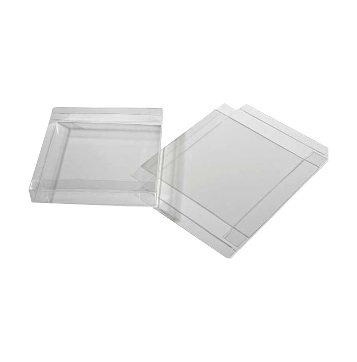 5 7/8 x 1 x 5 7/8 Crystal Clear Box (Pack 25) Clear