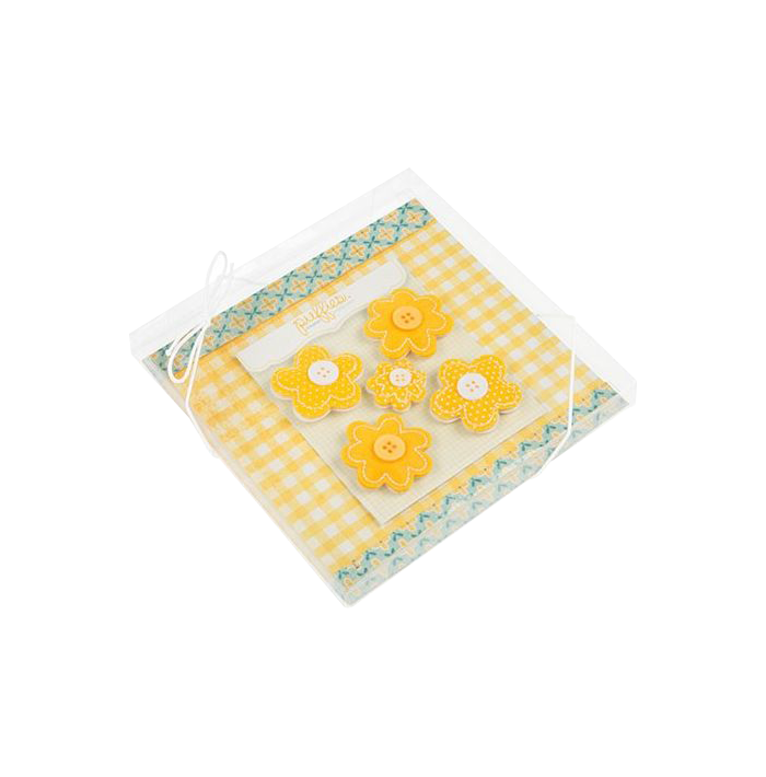 5 7/8 x 5/8 x 5 7/8 Crystal Clear Box (Pack of 25) Clear