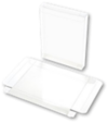 4 1/2 x 13/16 x 5 7/8 Crystal Clear Box - Clear (Pack of 25) Clear