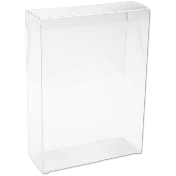 5 3/8 x 2 x 7 3/8 Crystal Clear Box - Clear (Pack of 25) Clear