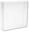 4 1/8 x 1 x 4 1/16 Crystal Clear Box - Clear (Pack of 25) Clear