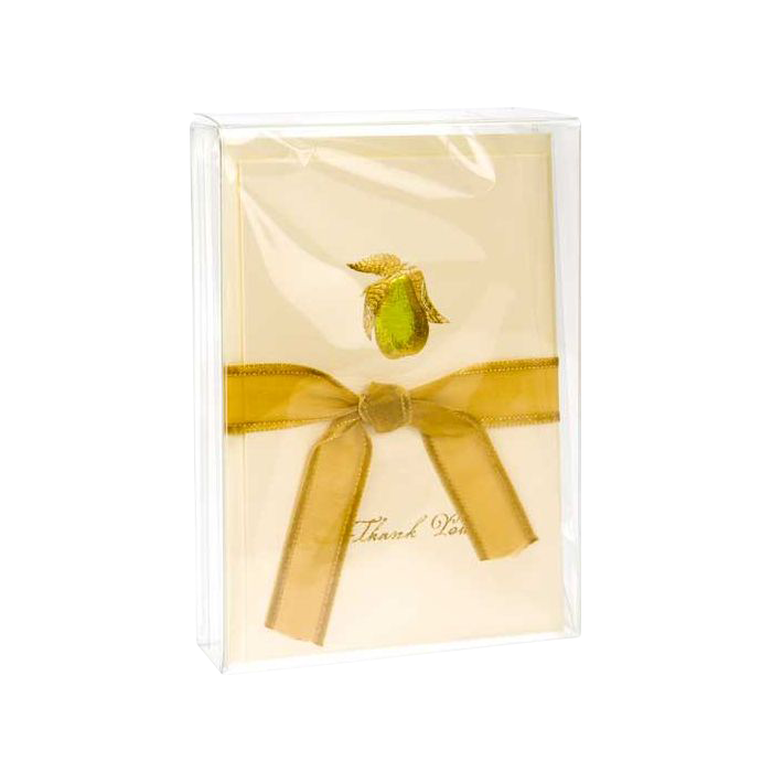 3 3/4 x 1 x 5 3/16 Crystal Clear Box (Pack of 25) Clear
