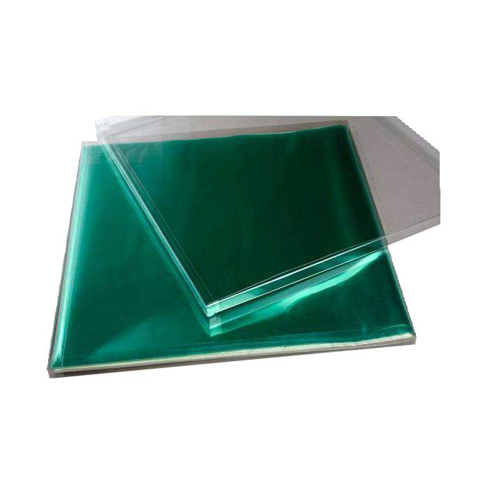 12 1/8 x 1/2 x 12 5/8 Crystal Clear Box (Pack of 25) Clear