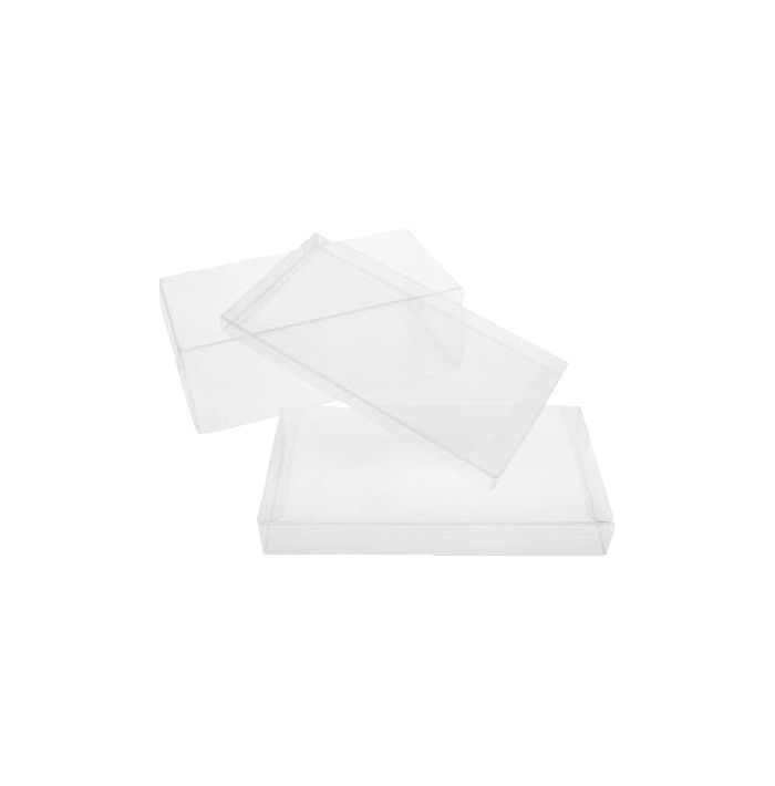 4 1/4 x 5/8 x 9 9/16 Crystal Clear Box (Pack of 25) Clear