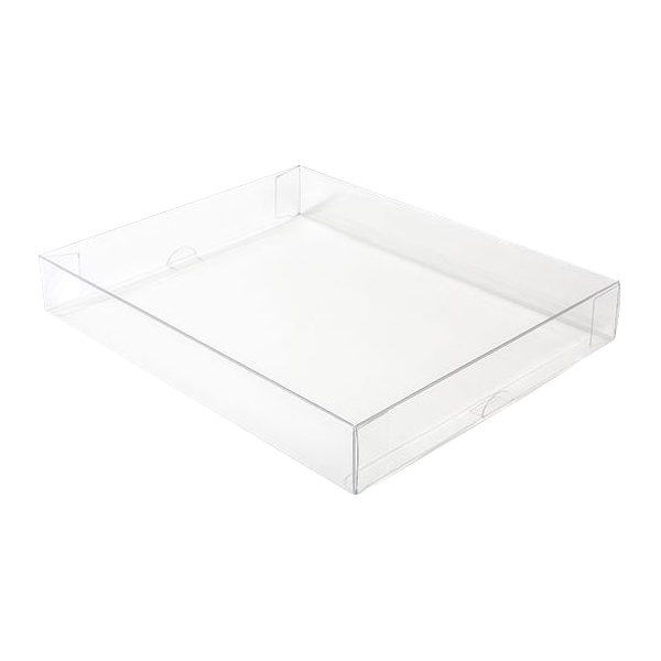 11 1/8 x 2 x 14 1/16 Crystal Clear Box (Pack of 25) Clear