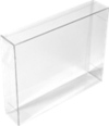 8 1/8 x 2 x 10 1/16 Crystal Clear Box (Pack of 25) Clear