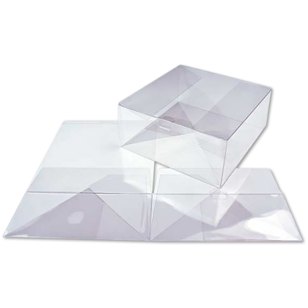 9 x 9 x 4 Crystal Clear Box w/Pop & Lock Top (Pack of 25) Clear