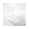 6 x 6 x 12 Crystal Clear Box w/Pop & Lock Top (Pack of 25) Clear