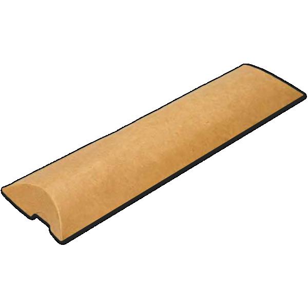 2 x 3/4 x 7 Pillow Box (Pack of 25) Brown Kraft