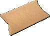 3 x 1 x 5 Pillow Box (Pack of 25) Brown Kraft
