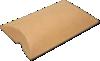 4 x 1 1/8 x 6 Pillow Box (Pack of 25) Brown Kraft