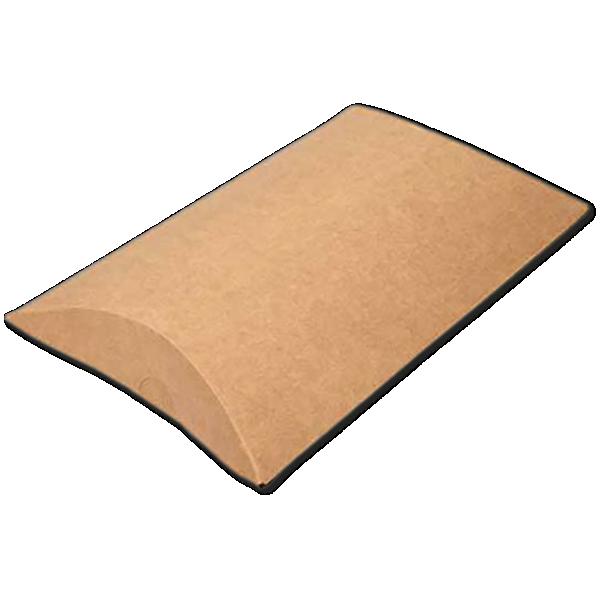 5 x 1 1/4 x 7 Pillow Box (Pack of 25) Brown Kraft