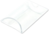 2 x 3/4 x 3 Pillow Box (Pack of 25) Clear
