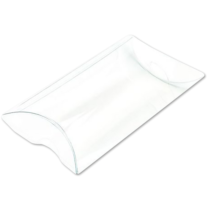 3 x 1 x 5 Pillow Box (Pack of 25) Clear