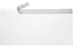 #10 Square Flap Envelopes Crystal Clear