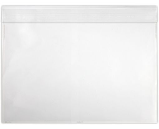 9 x 12 Booklet Envelopes Crystal Clear