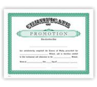 8 1/2 x 11 Certificate