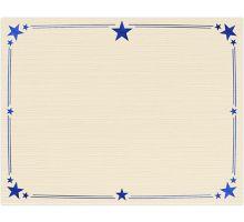 8 1/2 x 11 Certificates - Stars