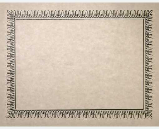 blank printable certificate off white parchment paper envelopes com