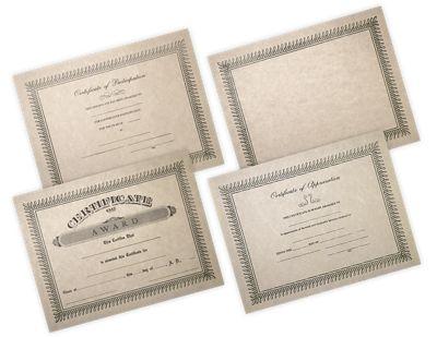 Paper Certificates
