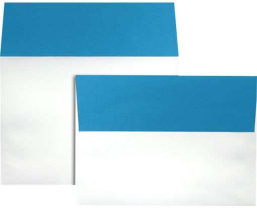 A7 Colorflaps Envelopes (5 1/4 x 7 1/4) Pool Flap