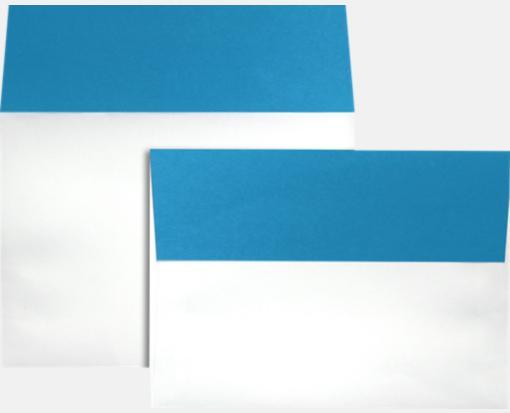 pool flap blue a7 envelopes colorflaps 5 1 4 x 7 1 4