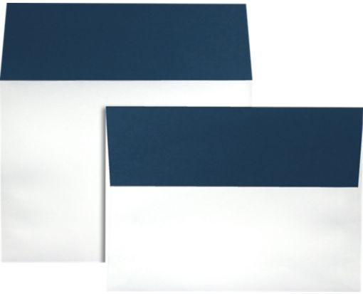A7 Colorflaps Envelopes (5 1/4 x 7 1/4) Navy Flap