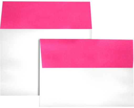 A7 Colorflaps Envelopes (5 1/4 x 7 1/4) Fuchsia Flap