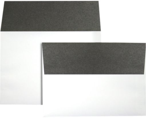 A7 Colorflaps Envelopes (5 1/4 x 7 1/4) Smoke Flap