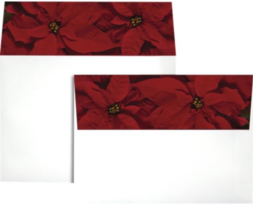 A7 Colorflaps Envelopes (5 1/4 x 7 1/4) Poinsettia