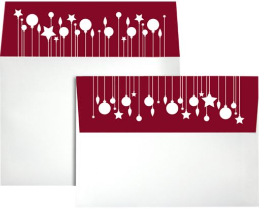 A7 Colorflaps Envelopes (5 1/4 x 7 1/4) Ornaments