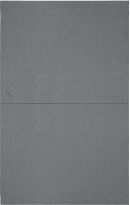 9 1/2 x 12 Certificate Holders Sterling Gray Linen