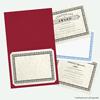 9 1/2 x 12 Certificate Holders Garnet