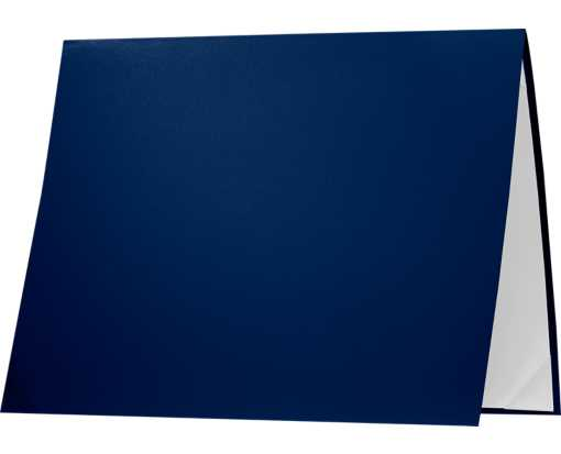 8 1/2 x 11 Leatherette Certificate Holders Navy