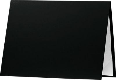 5 x 7 Leatherette Certificate Holders Black