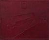 10 x 11 3/4 Certificate Frame w/ Easel Burgundy Print