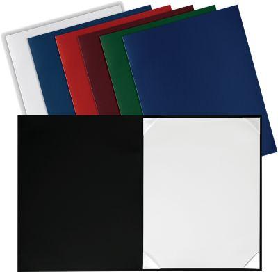 8 1/2 x 11 Leatherette Certificate Holders Maroon