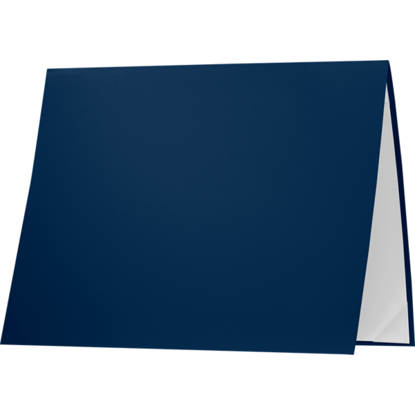 8 1/2 x 11 Leatherette Certificate Holders Royal Blue