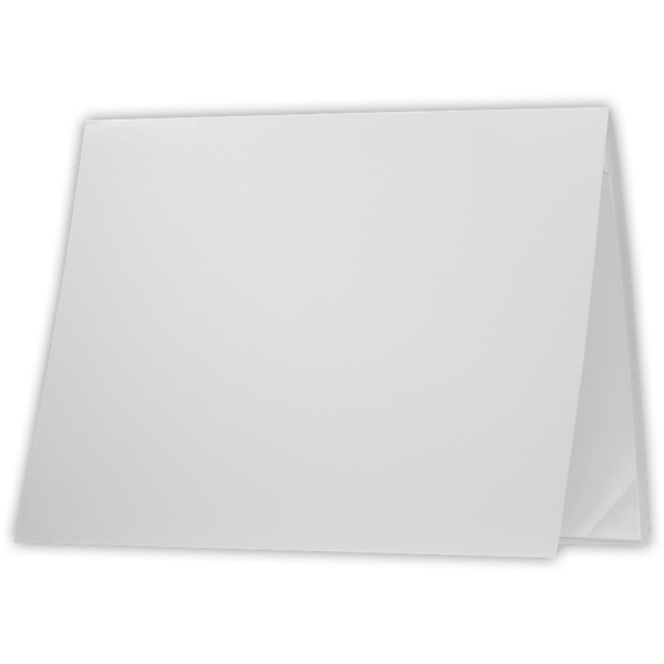 8 1/2 x 11 Leatherette Certificate Holders White