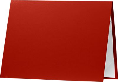 5 x 7 Leatherette Certificate Holders Red