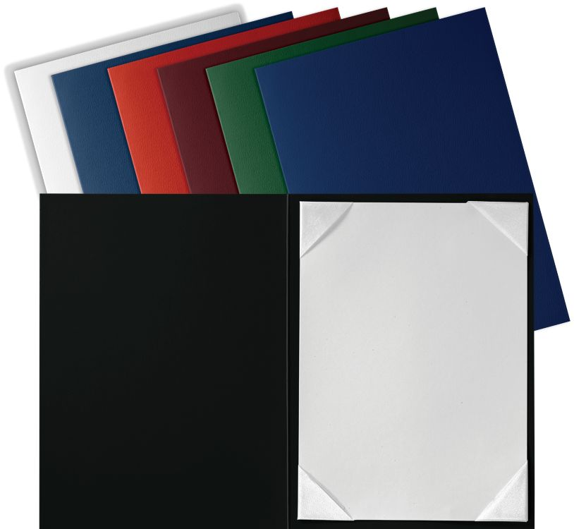 5 x 7 Leatherette Certificate Holders Royal Blue
