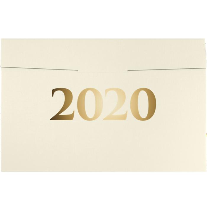 6 1/2 x 9 1/2 2020 Certificate Holders Natural Linen