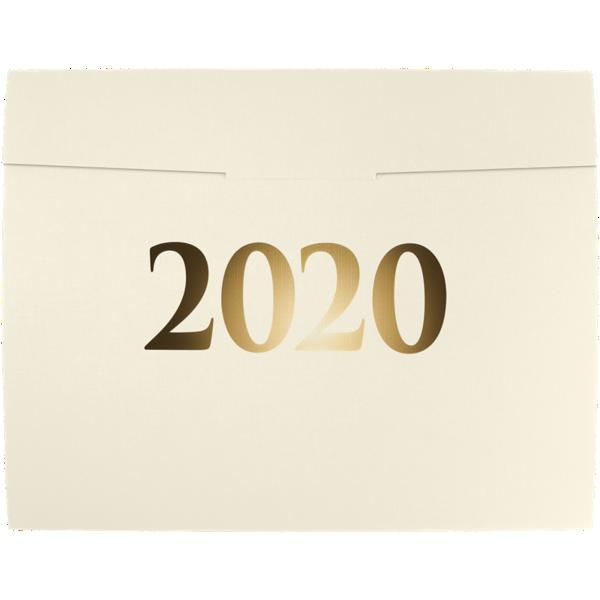 9 1/2 x 12 2020 Certificate Holders Natural Linen