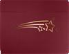 9 1/2 x 12 Shooting Stars Certificate Holders Burgundy  Linen